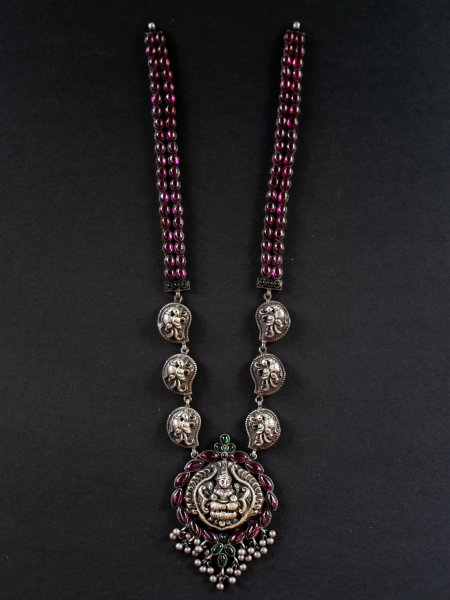 Lakshmi and Mango Neckpiece