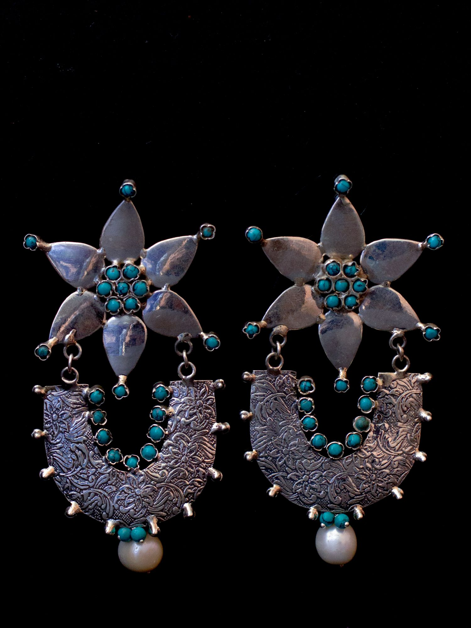 The Turquoise Danglers